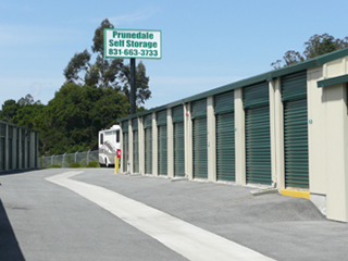 storage units outside